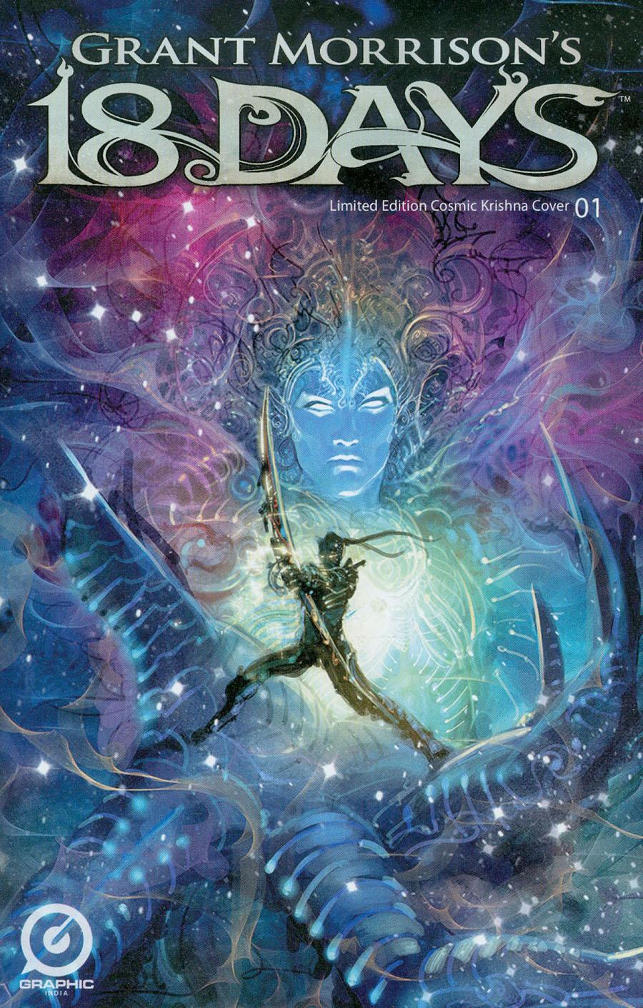 Grant Morrisons 18 Days #1 Cover C Variant Cosmic Krishna Cover