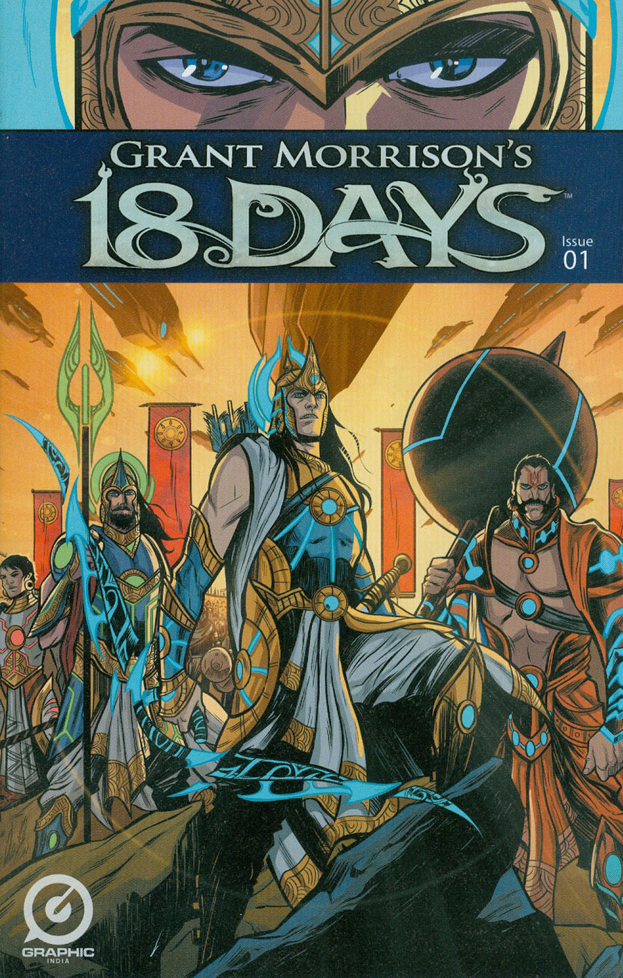 Grant Morrisons 18 Days #1 Cover A Regular Jeevan Kang Cover