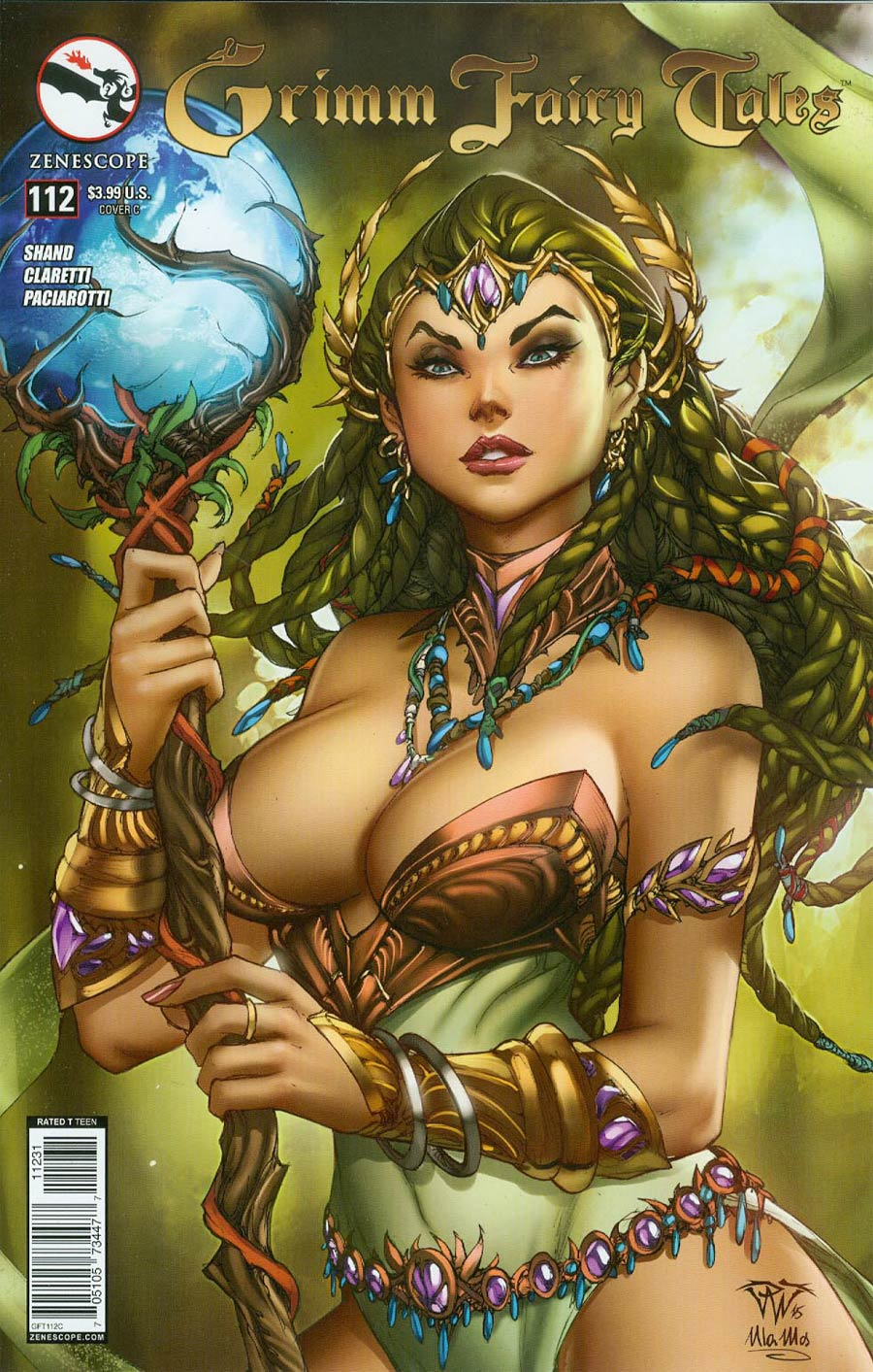 Grimm Fairy Tales #112 Cover C Paolo Pantalena