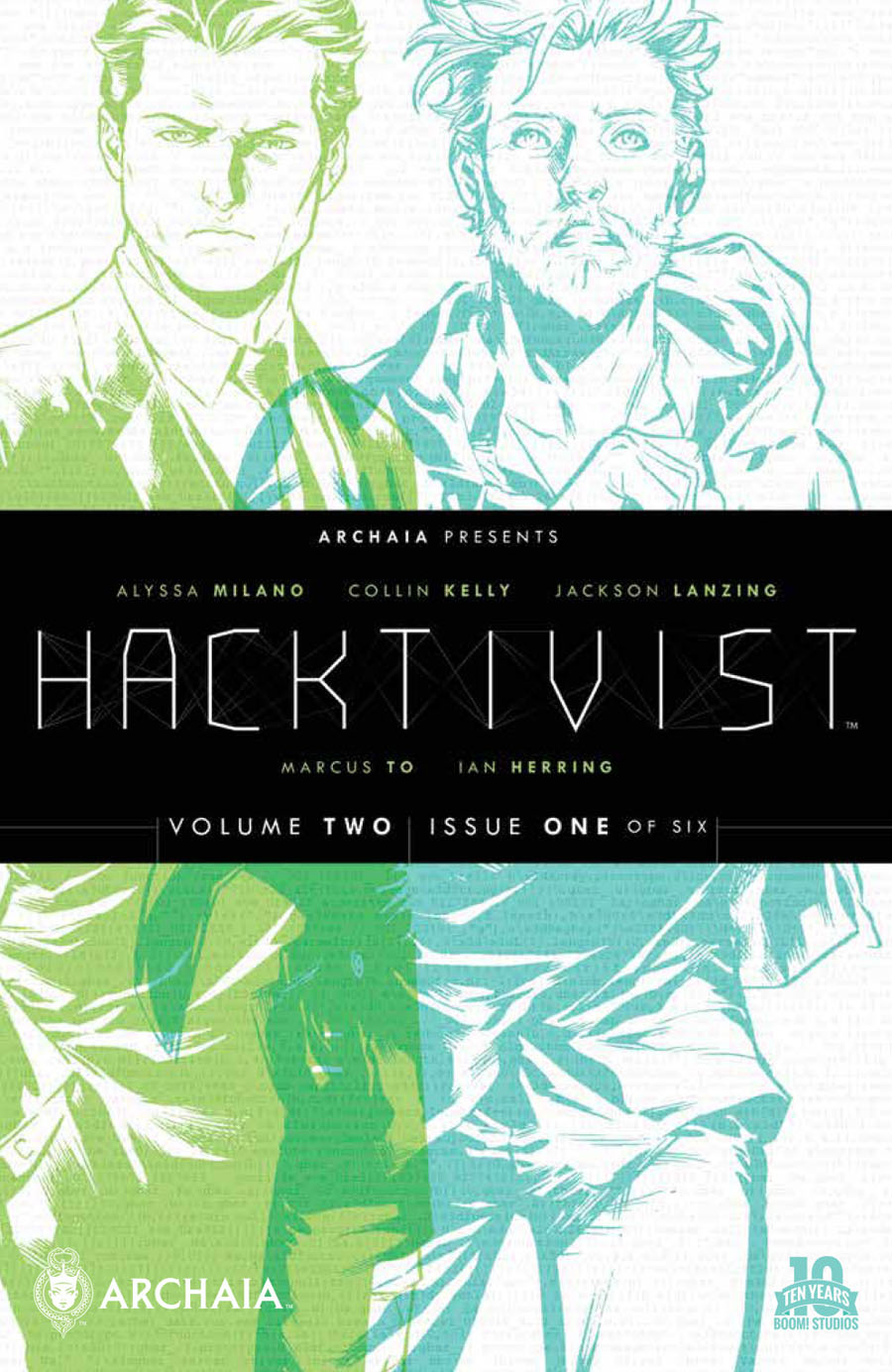 Hacktivist Vol 2 #1 Cover A Regular Marcus To Cover