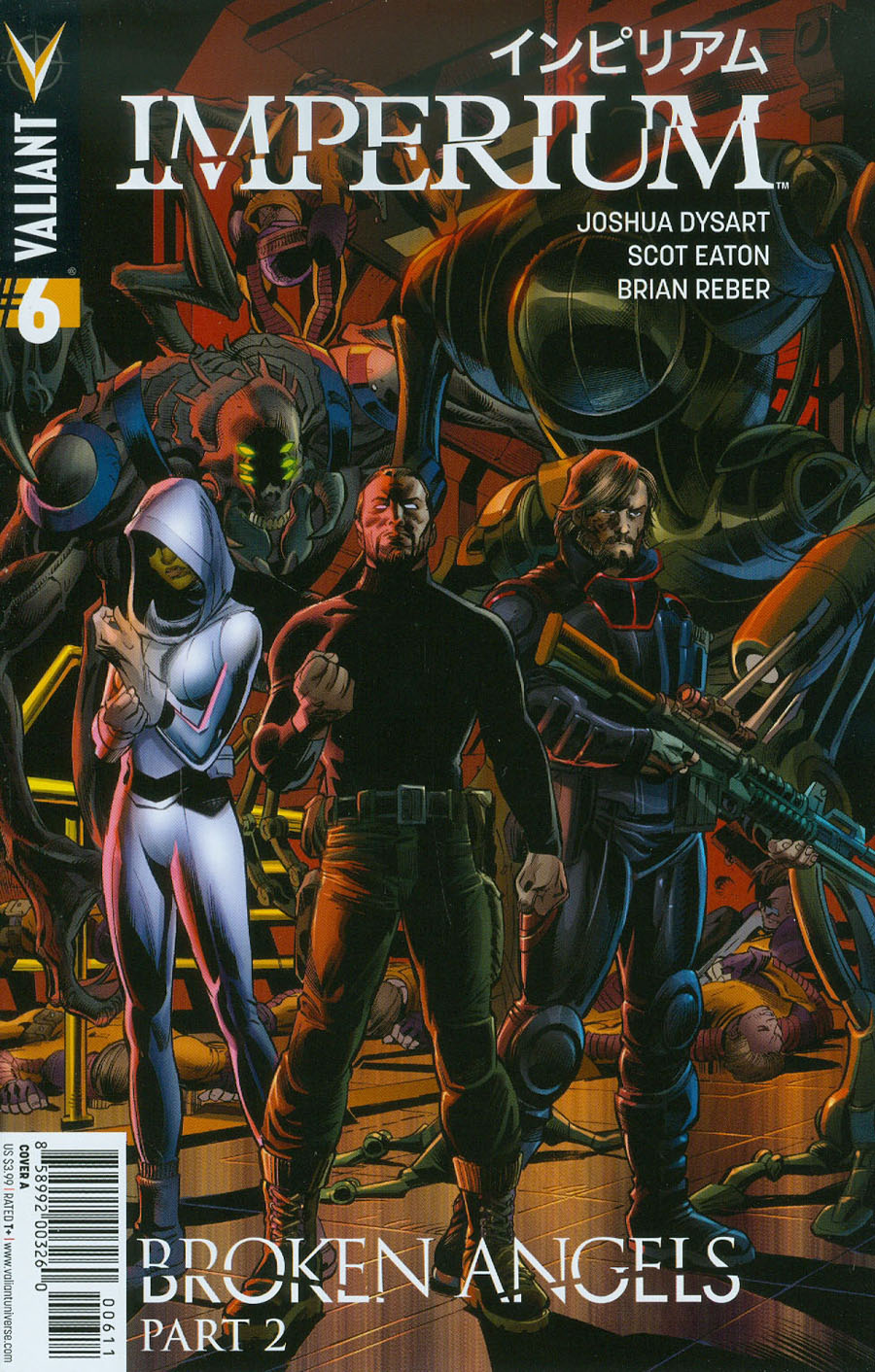 Imperium #6 Cover A Regular Scot Eaton Cover