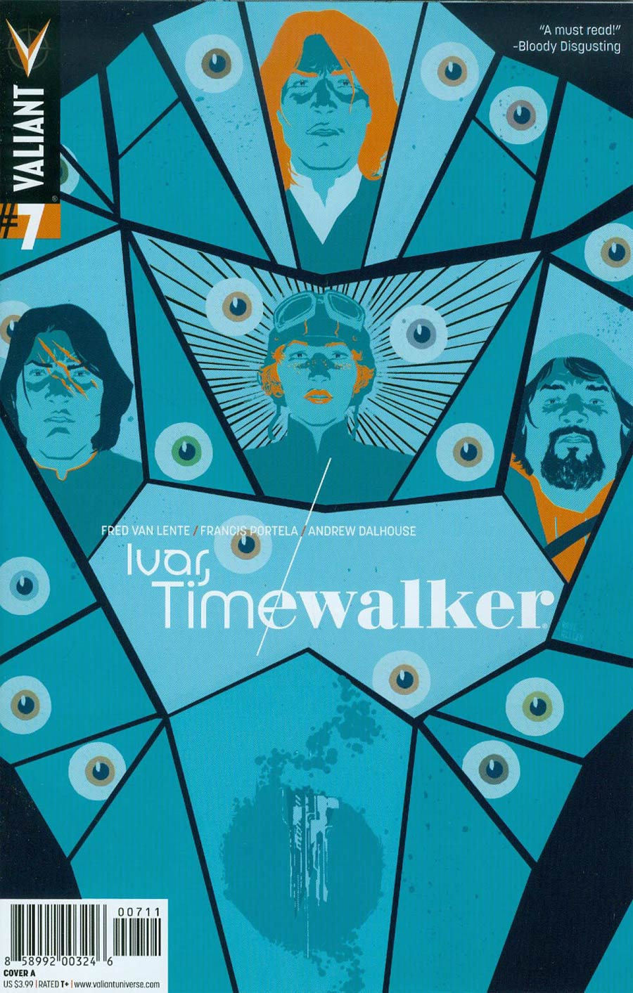 Ivar Timewalker #7 Cover A Regular Raul Allen Cover