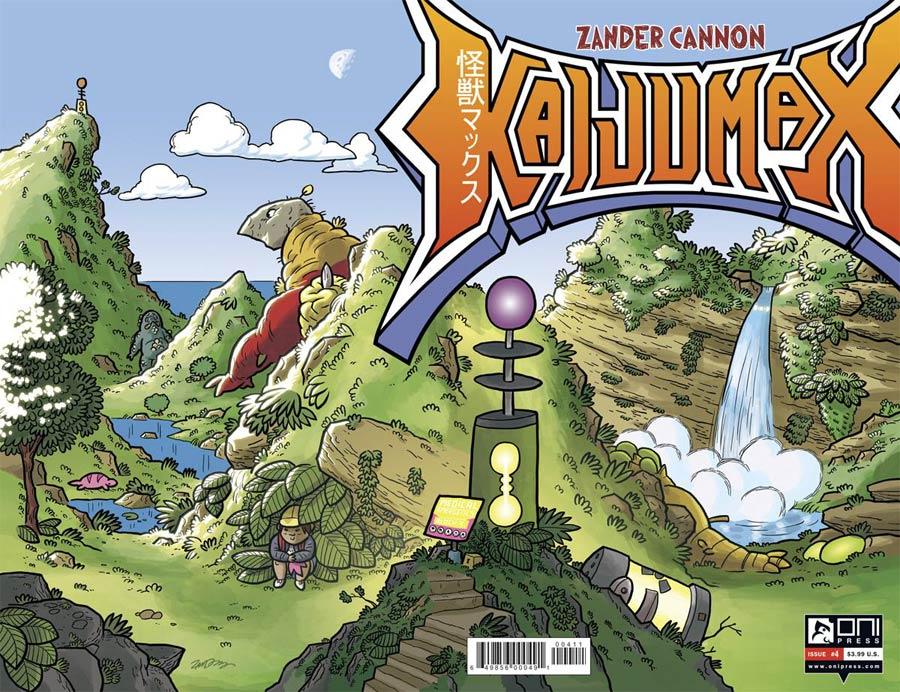 Kaijumax #4 Cover A Regular Zander Cannon Cover