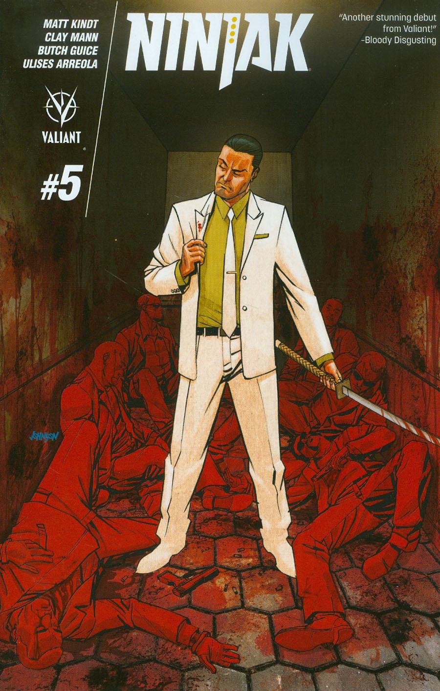 Ninjak Vol 3 #5 Cover B Variant Dave Johnson Cover