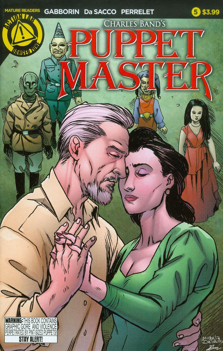 Puppet Master #5 Cover A Regular Michela De Sacco Cover