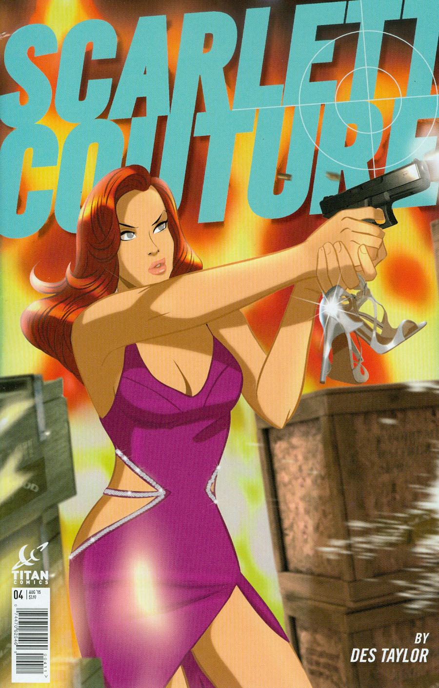Scarlett Couture #4 Cover A Regular Des Taylor Cover