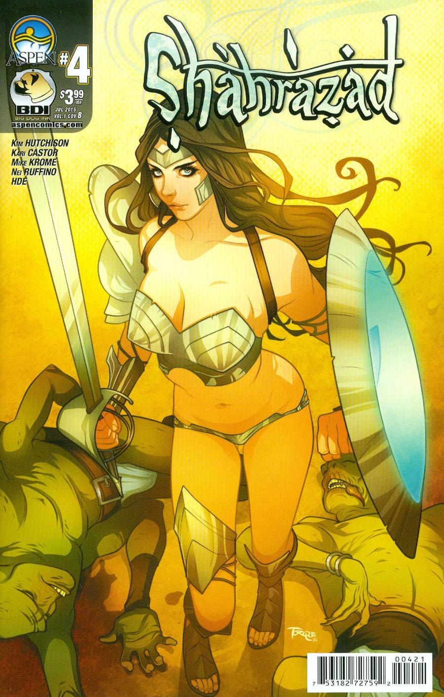 Shahrazad Vol 2 #4 Cover B Variant Elizabeth Torque Cover