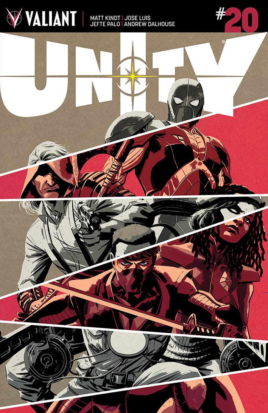 Unity Vol 2 #20 Cover A Regular Kano Cover