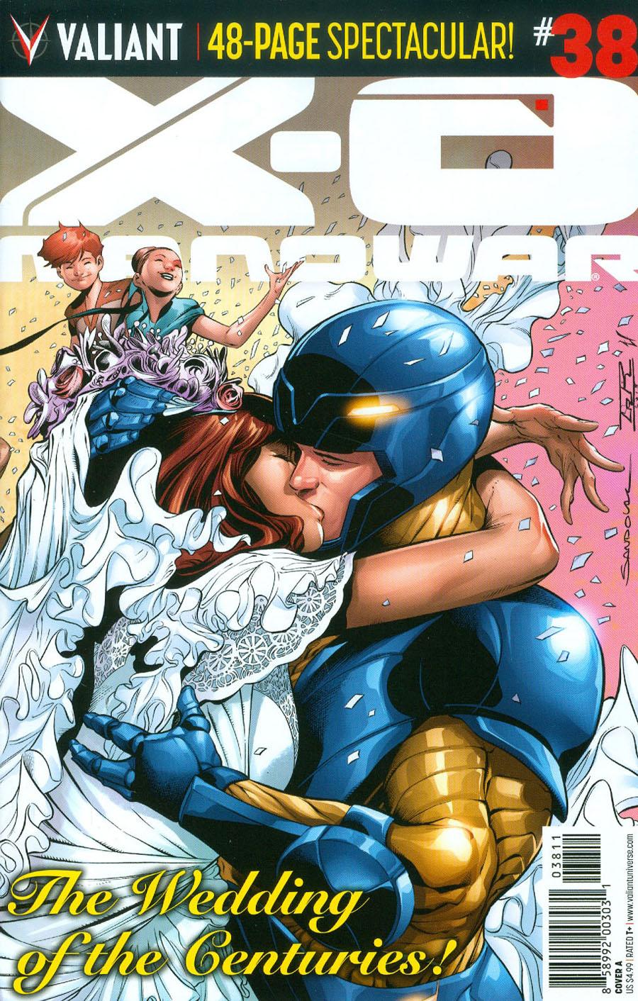X-O Manowar Vol 3 #38 Cover A Regular Rafa Sandoval Wraparound Cover