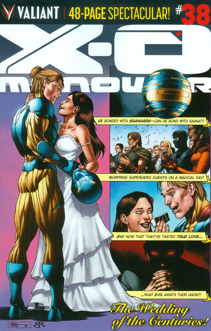 X-O Manowar Vol 3 #38 Cover C Variant CAFU Cover