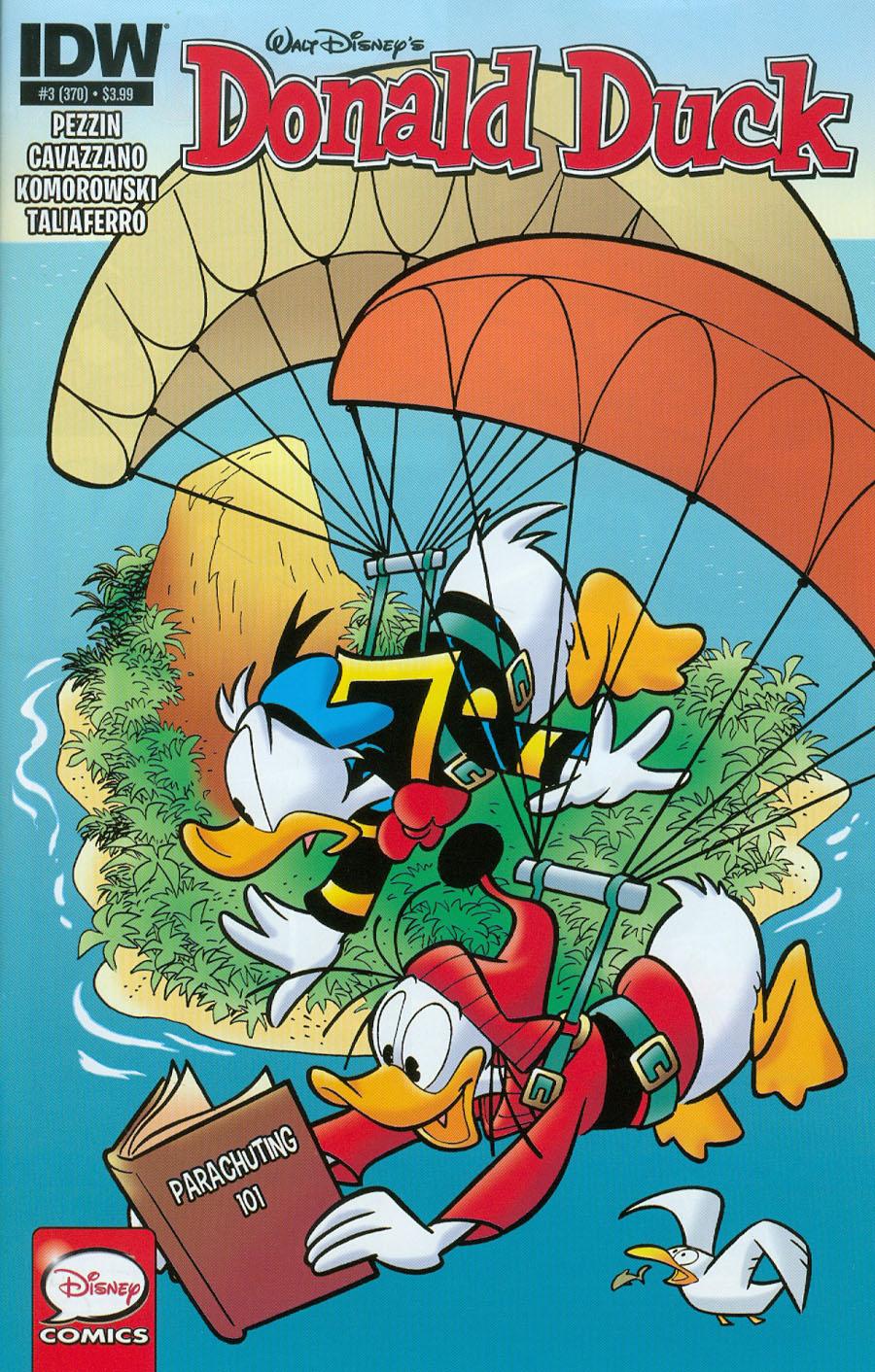 Donald Duck Vol 2 #3 Cover A Regular Giorgio Cavazzano Cover