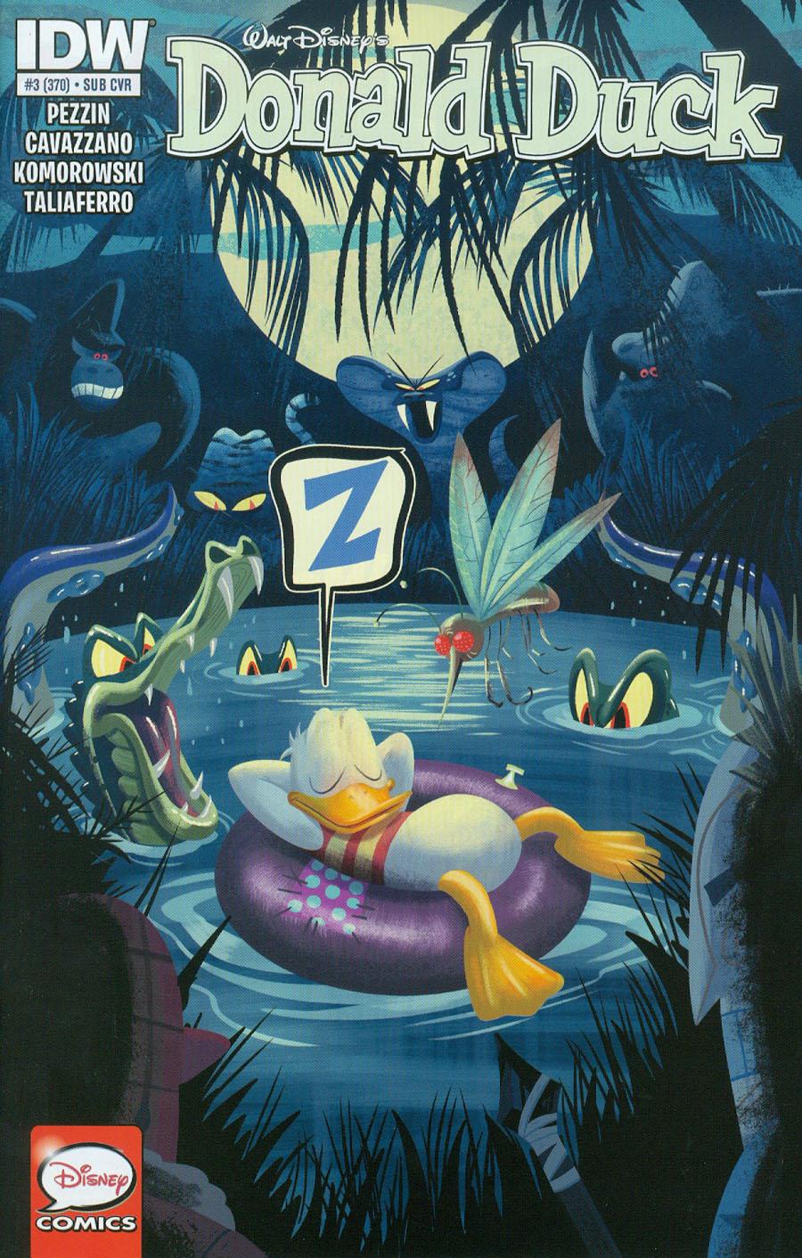 Donald Duck Vol 2 #3 Cover B Variant Derek Charm Subscription Cover