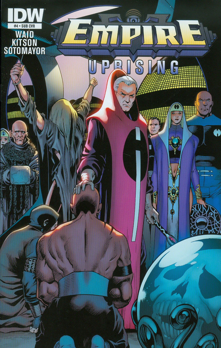 Empire Uprising #4 Cover B Variant Barry Kitson Subscription Cover
