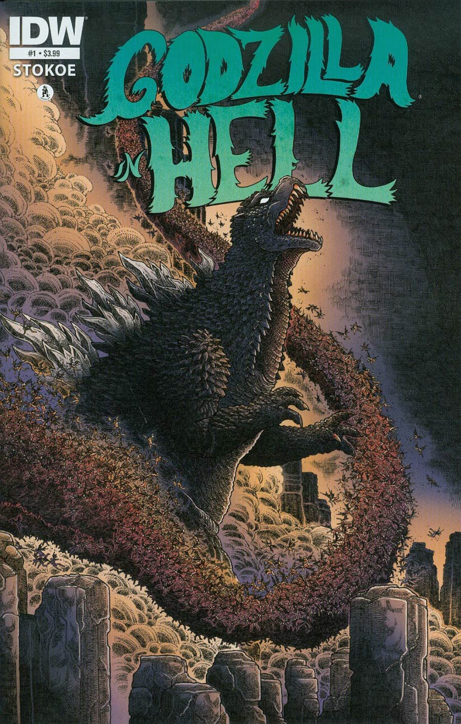 Godzilla In Hell #1 Cover A 1st Ptg Regular James Stokoe Cover