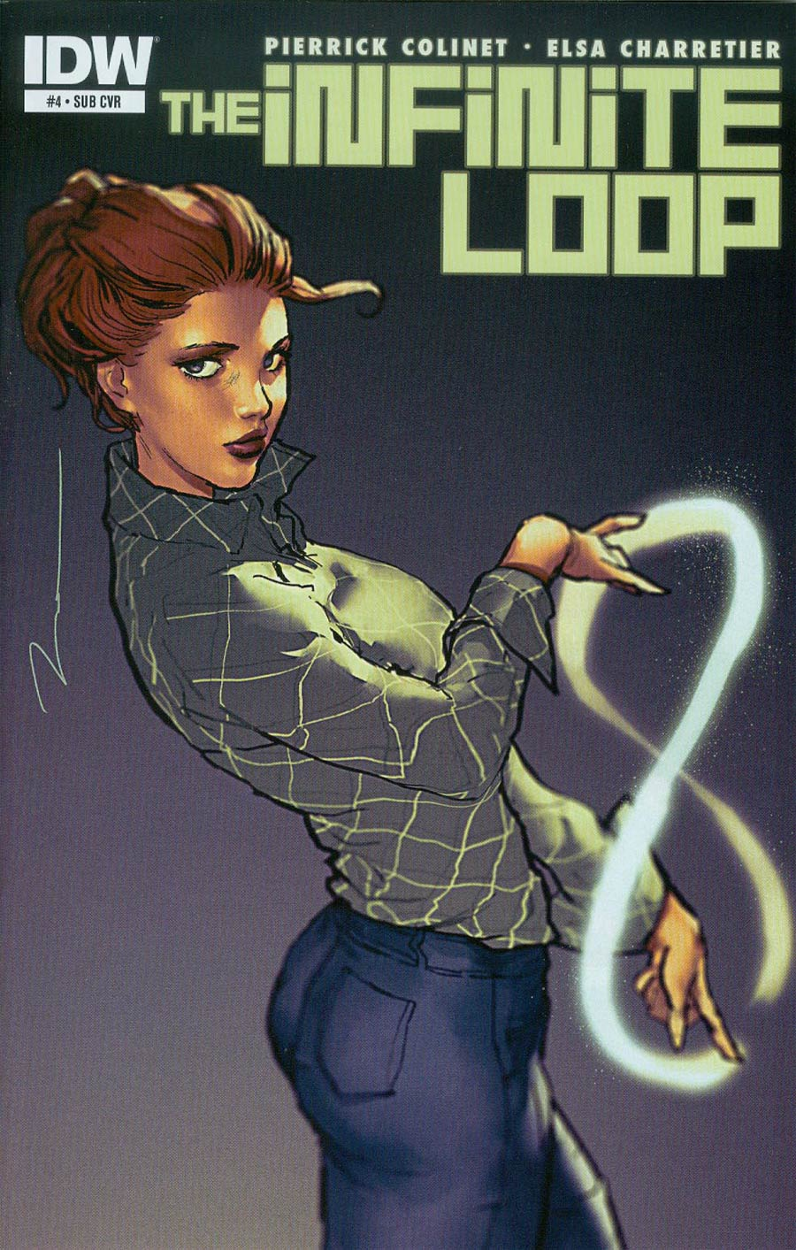 Infinite Loop #4 Cover B Variant Gerald Parel Subscription Cover