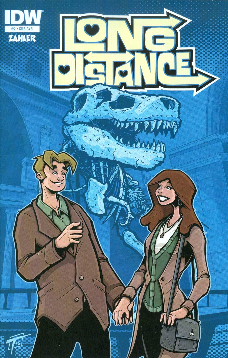 Long Distance #2 Cover B Variant Sean Tiffany Subscription Cover