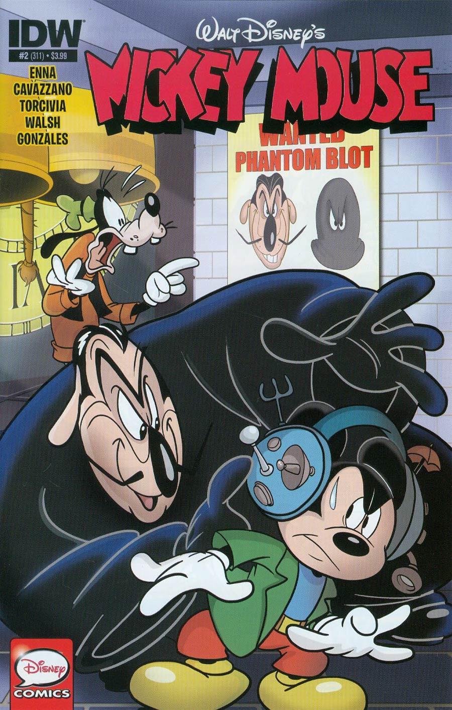 Mickey Mouse Vol 2 #2 Cover A Regular Dave Alvarez Cover