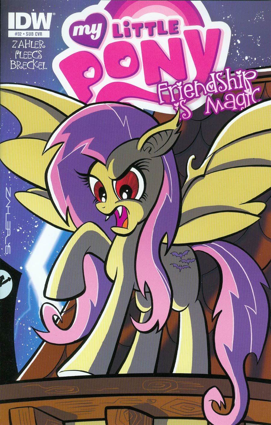 My Little Pony Friendship Is Magic #32 Cover B Variant Thom Zahler Subscription Cover