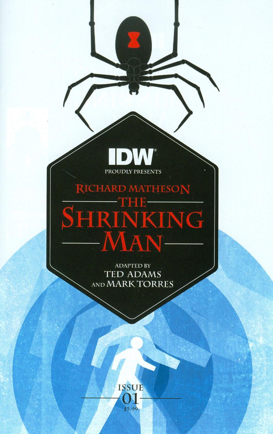 Shrinking Man #1 Cover A Regular Mark Torres Cover