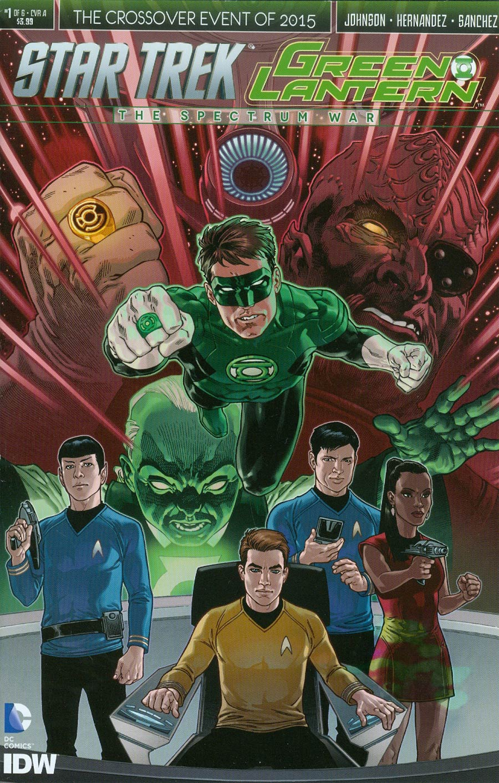 Star Trek Green Lantern #1 Cover A 1st Ptg Regular Gabriel Rodriguez Cover