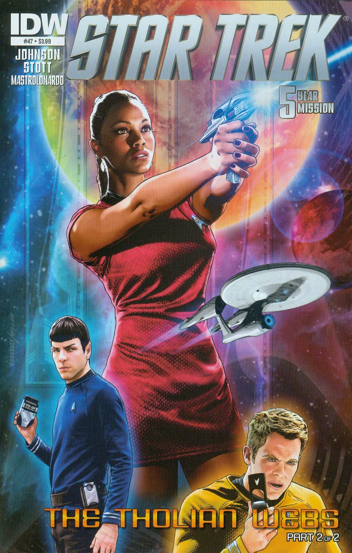Star Trek (IDW) #47 Cover A Regular Joe Corroney Cover