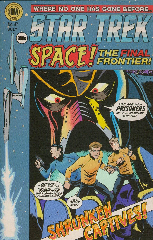 Star Trek (IDW) #47 Cover B Variant Derek Charm EC Comics Subscription Cover