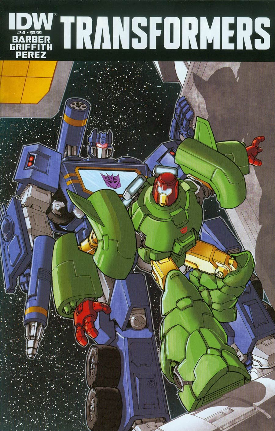 Transformers Vol 3 #43 Cover A Regular Andrew Griffith Cover