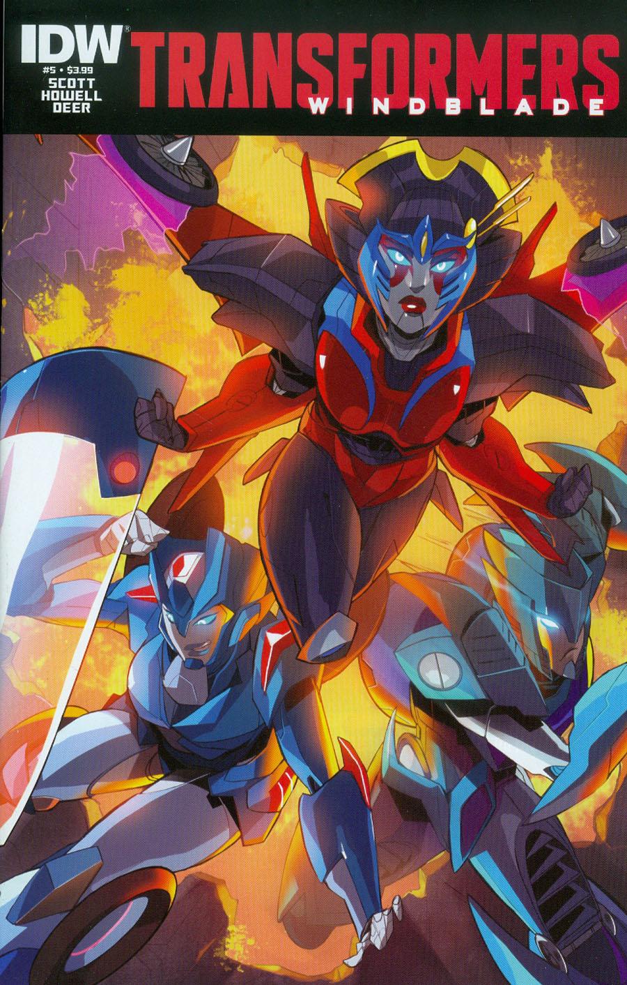 Transformers Windblade Vol 2 #5 Cover A Regular Priscilla Tramontano Cover