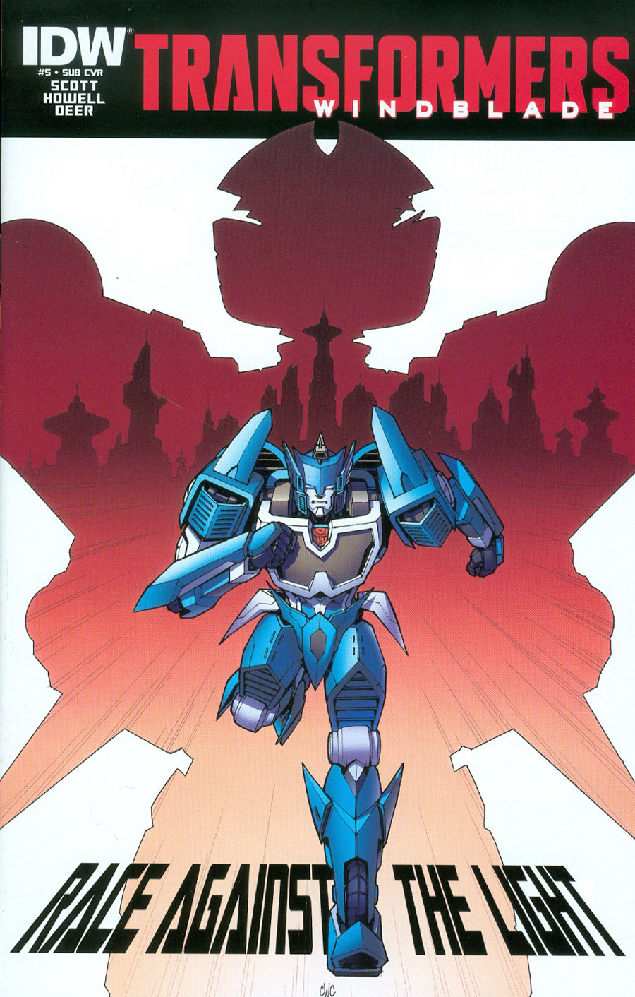 Transformers Windblade Vol 2 #5 Cover B Variant Casey W Coller Subscription Cover