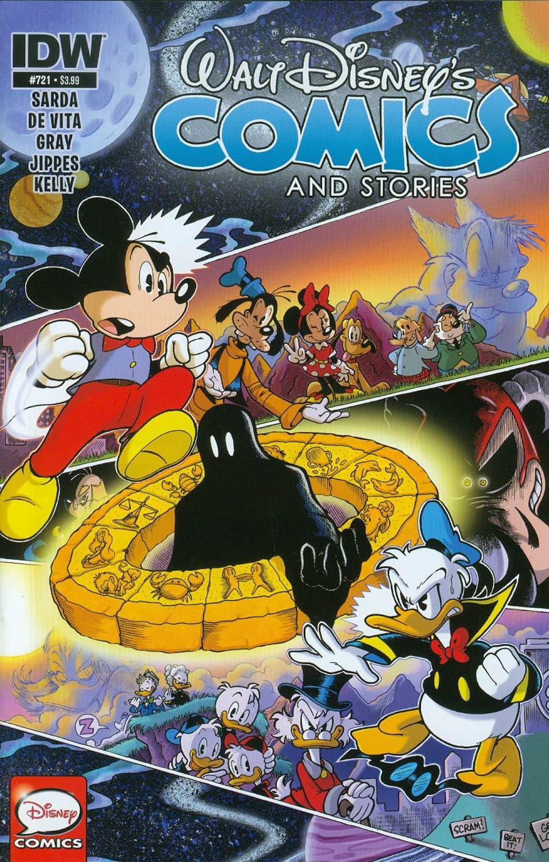 Walt Disneys Comics & Stories #721 Cover A Regular Jonathan Gray Cover