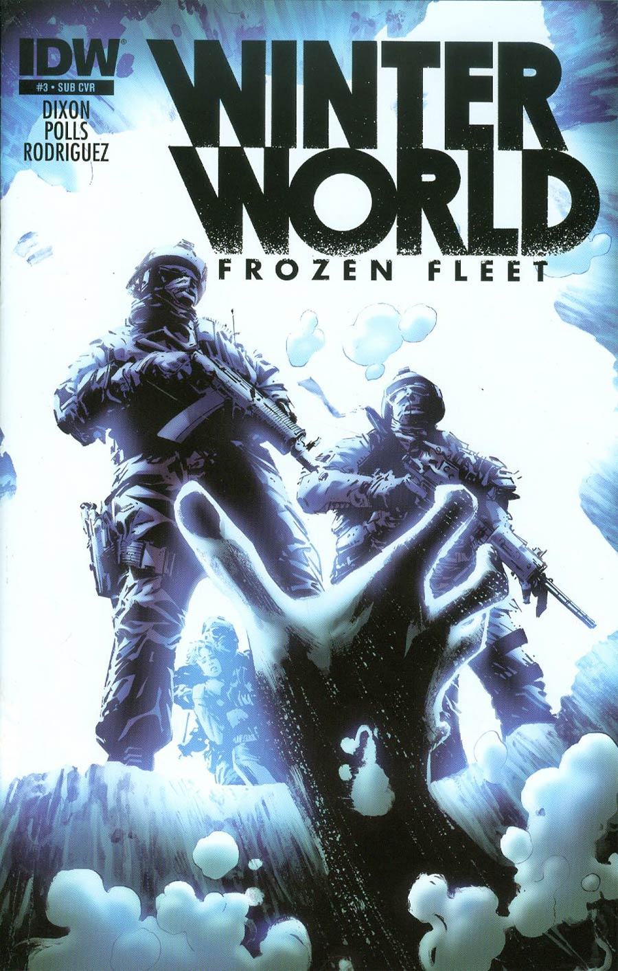Winterworld Frozen Fleet #3 Cover B Variant Butch Guice Subscription Cover