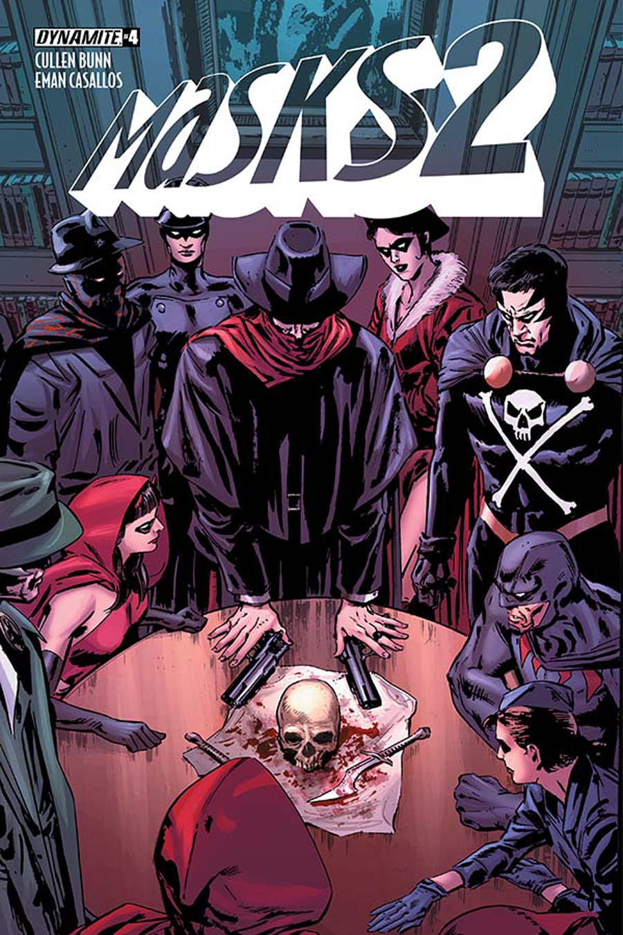 Masks 2 #4 Cover A Regular Butch Guice Cover