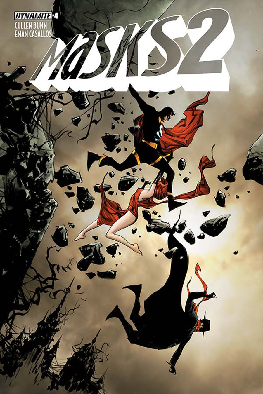 Masks 2 #4 Cover B Variant Jae Lee Cover