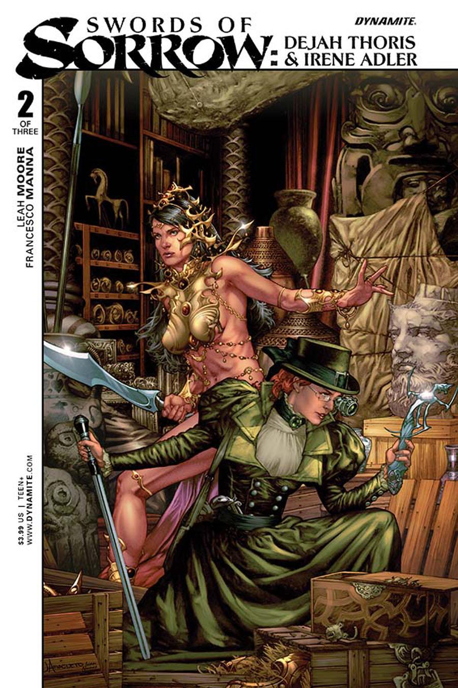Swords Of Sorrow Dejah Thoris & Irene Adler #2 Cover A Regular Jay Anacleto Cover