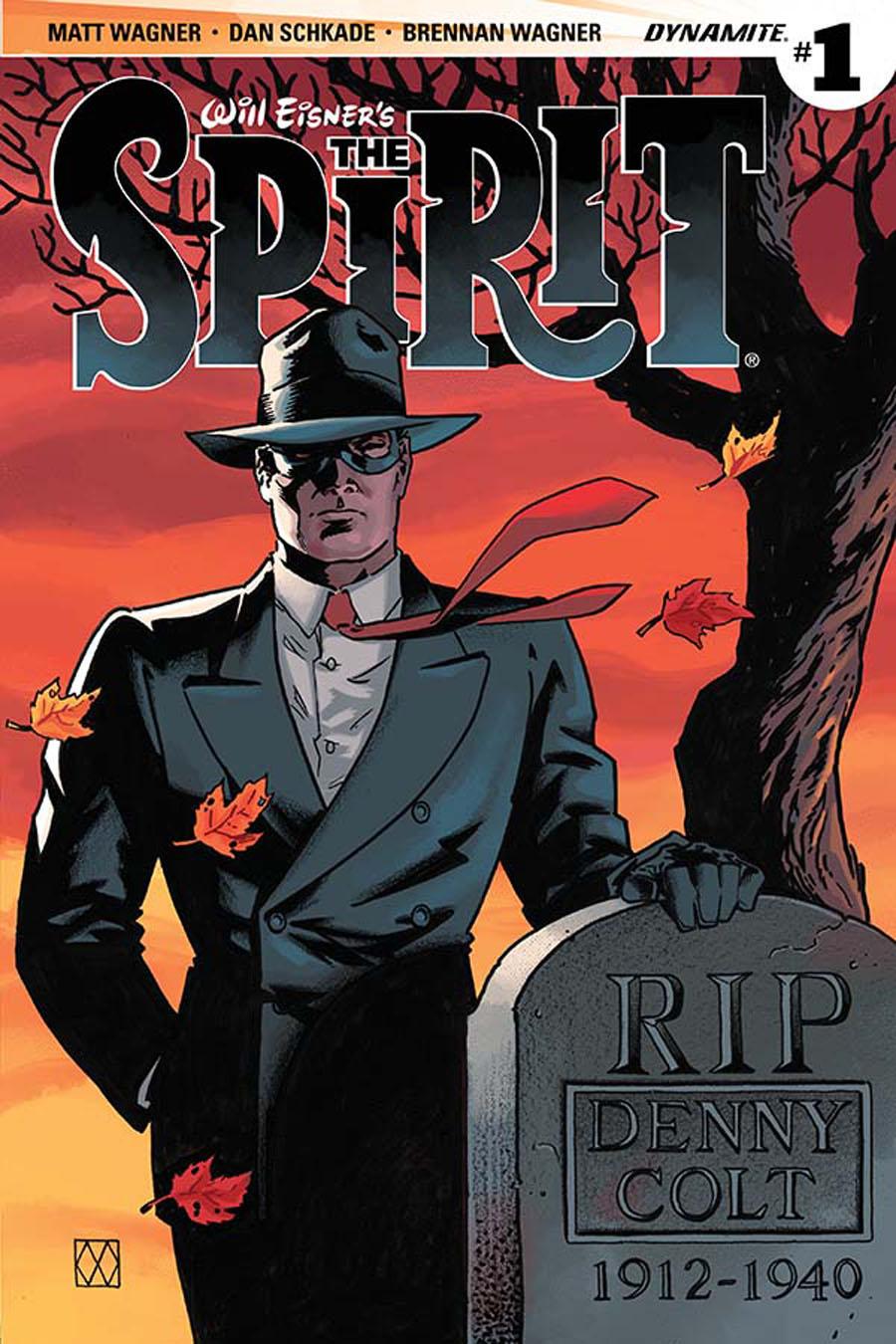 Will Eisners Spirit #1 Cover B Variant Matt Wagner Cover