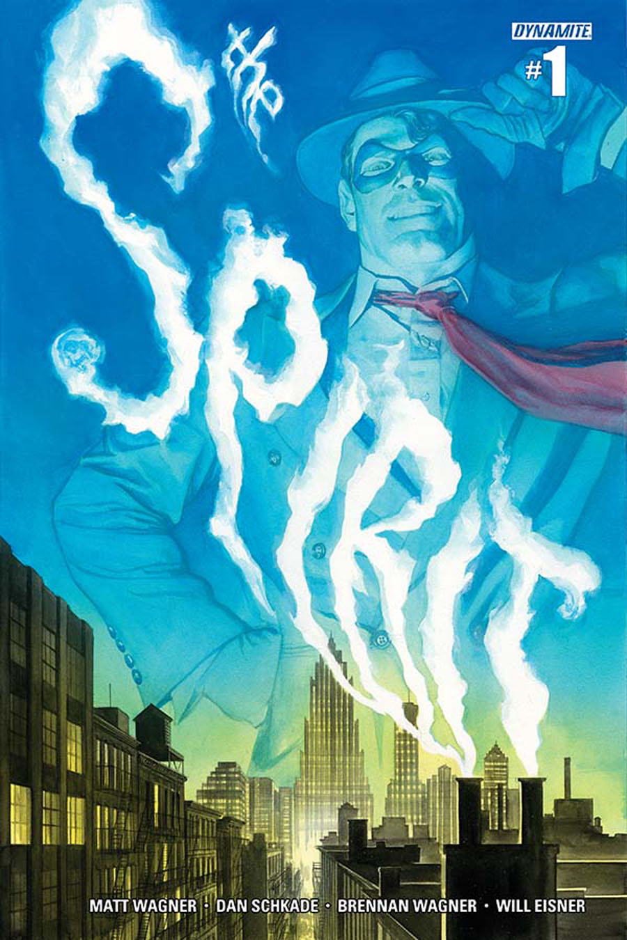 Will Eisners Spirit #1 Cover C Variant Alex Ross Subscription Cover