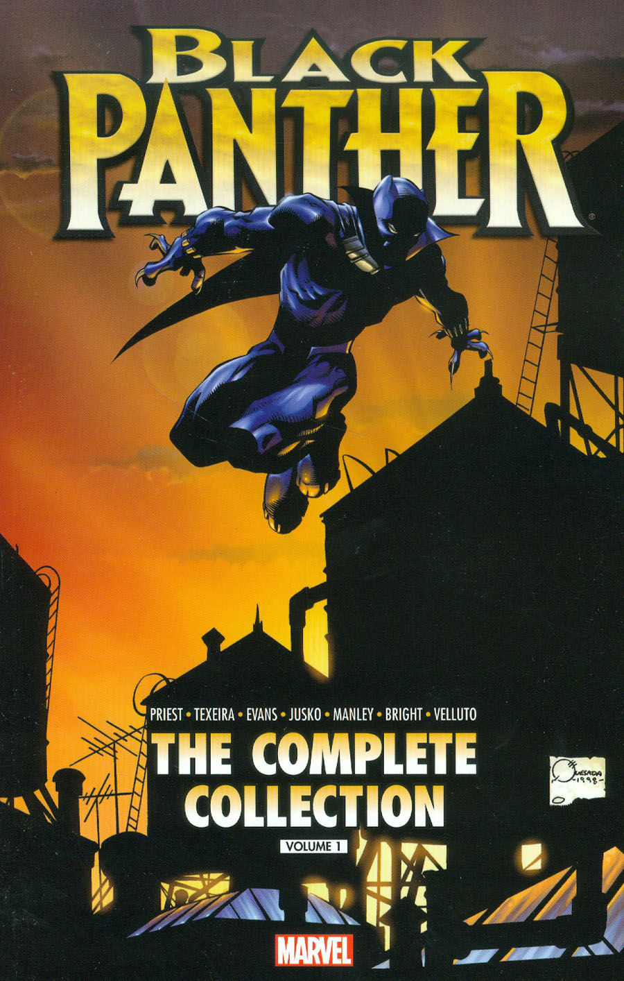 Black Panther By Christopher Priest Complete Collection Vol 1 TP