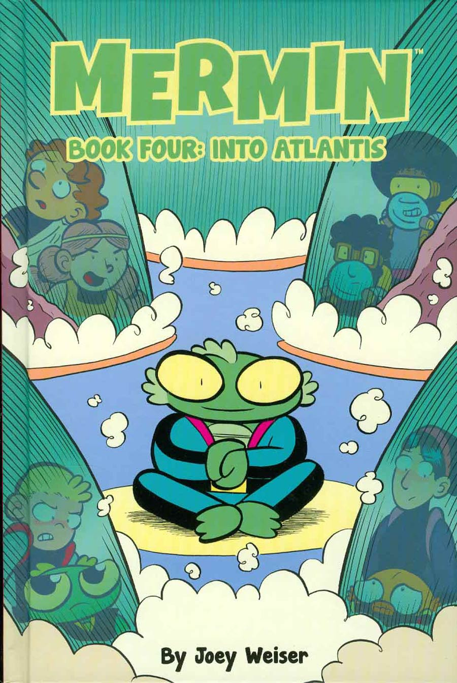 Mermin Vol 4 Into Atlantis HC