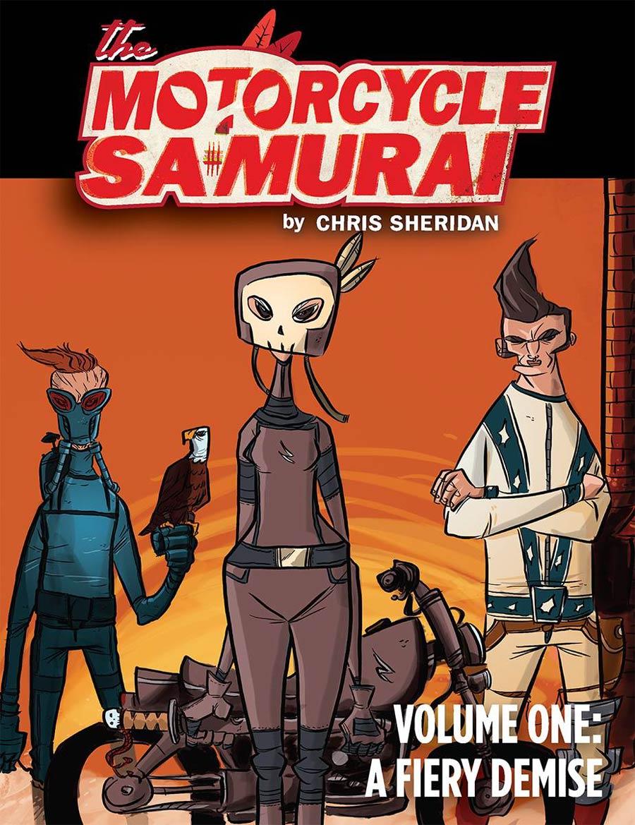 Motorcycle Samurai Vol 1 A Fiery Demise TP