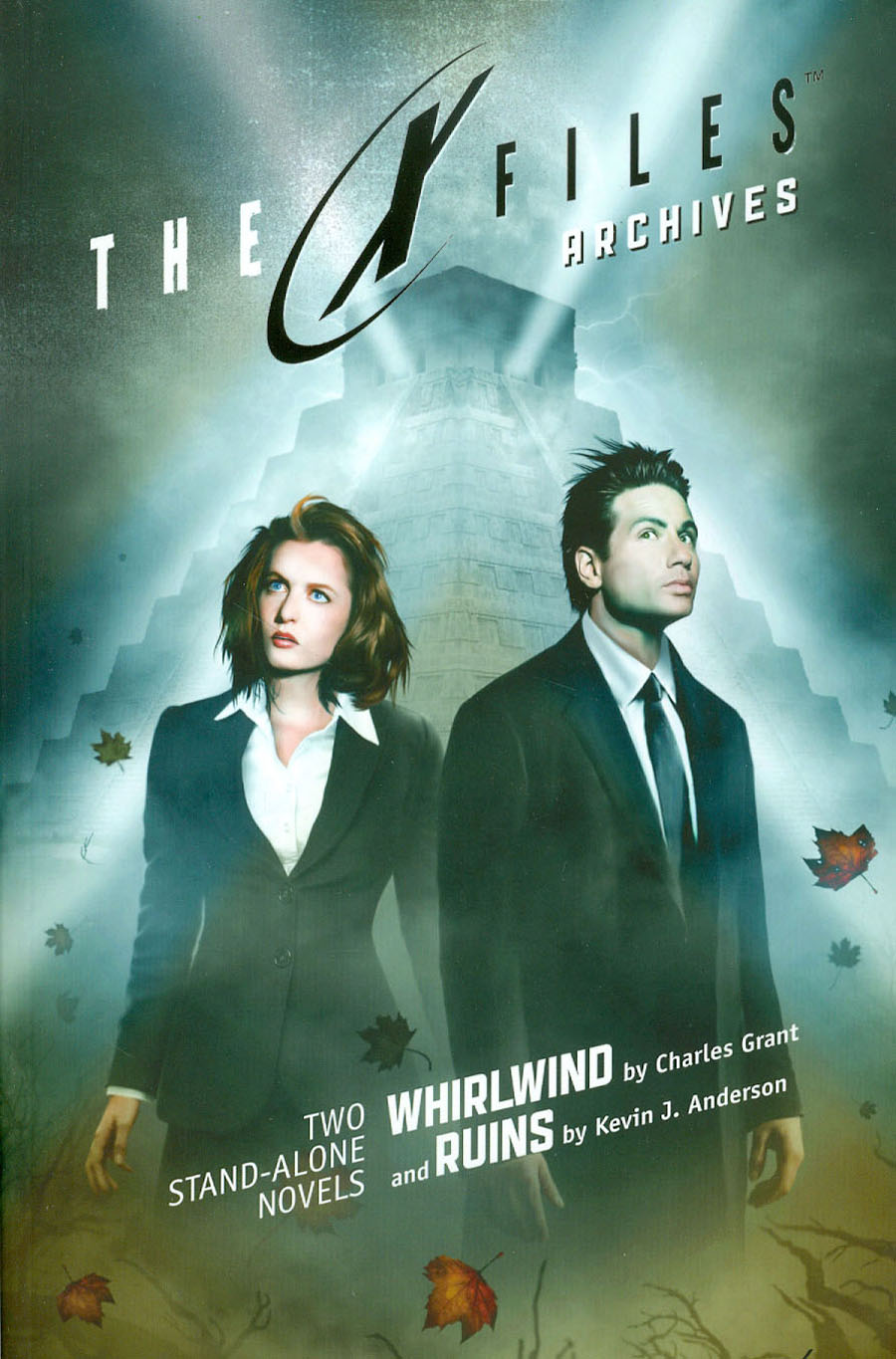 X-Files Archives Vol 1 Whirlwind And Ruins Prose Novel TP