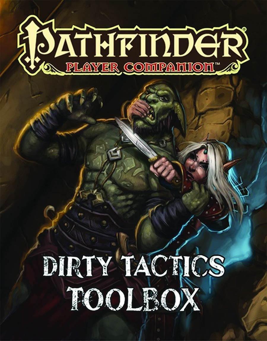 Pathfinder Player Companion Dirty Tactics Toolbox SC