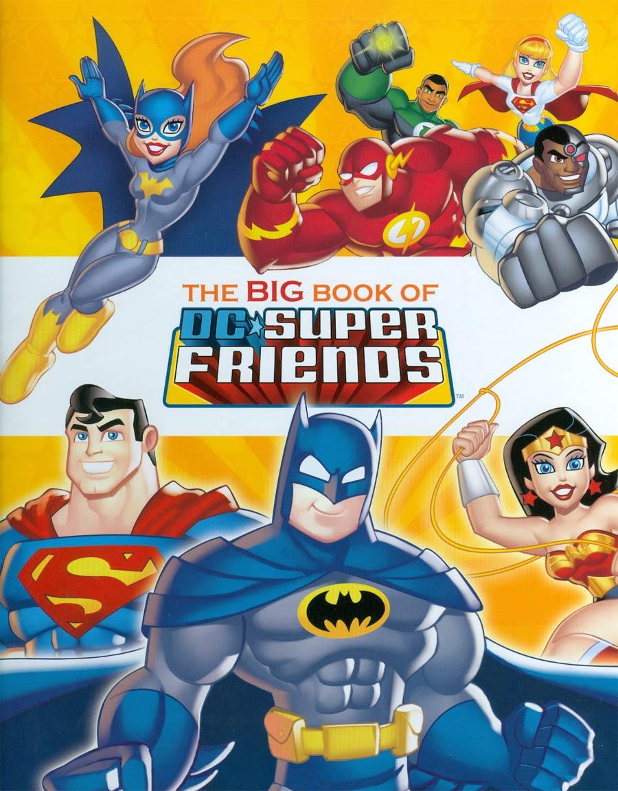 Big Book Of DC Super Friends A Golden Book HC