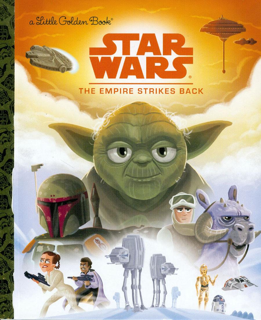 Star Wars Little Golden Book Episode V The Empire Strikes Back HC
