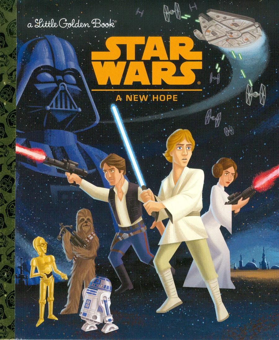 Star Wars Little Golden Book Episode IV A New Hope HC