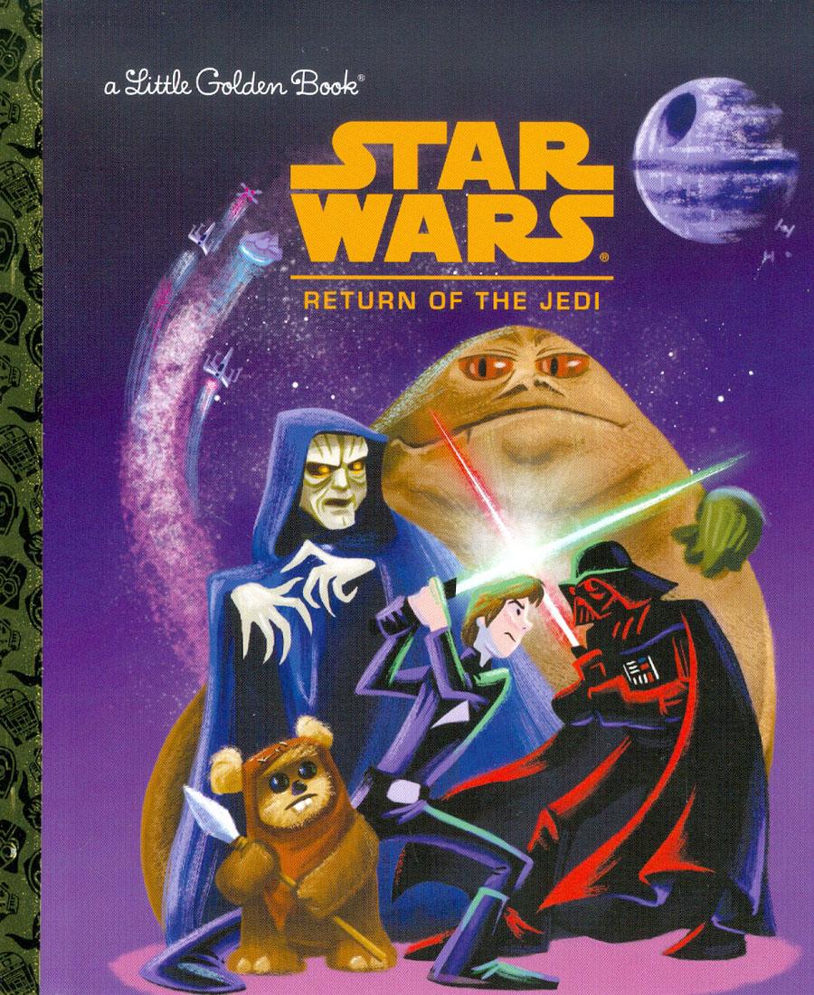 Star Wars Little Golden Book Episode VI Return Of The Jedi HC
