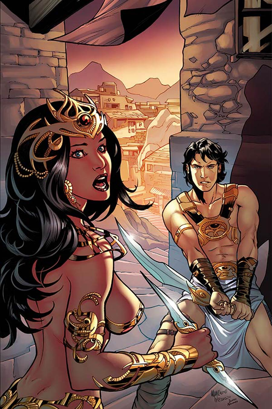 John Carter Warlord Of Mars Vol 2 #9 Cover G Incentive Emanuela Lupacchino Virgin Cover