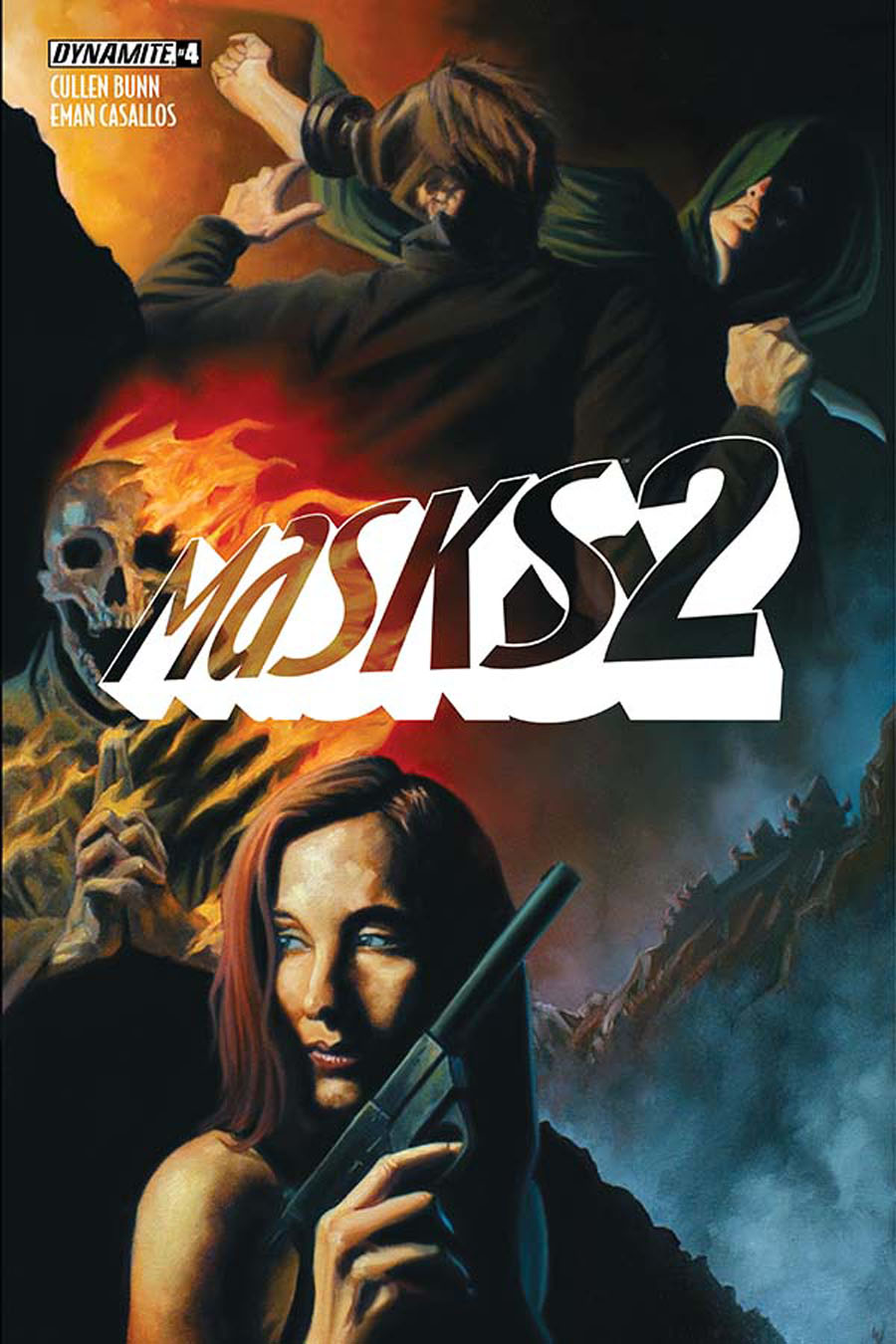 Masks 2 #4 Cover D Incentive Colton Worley Variant Cover