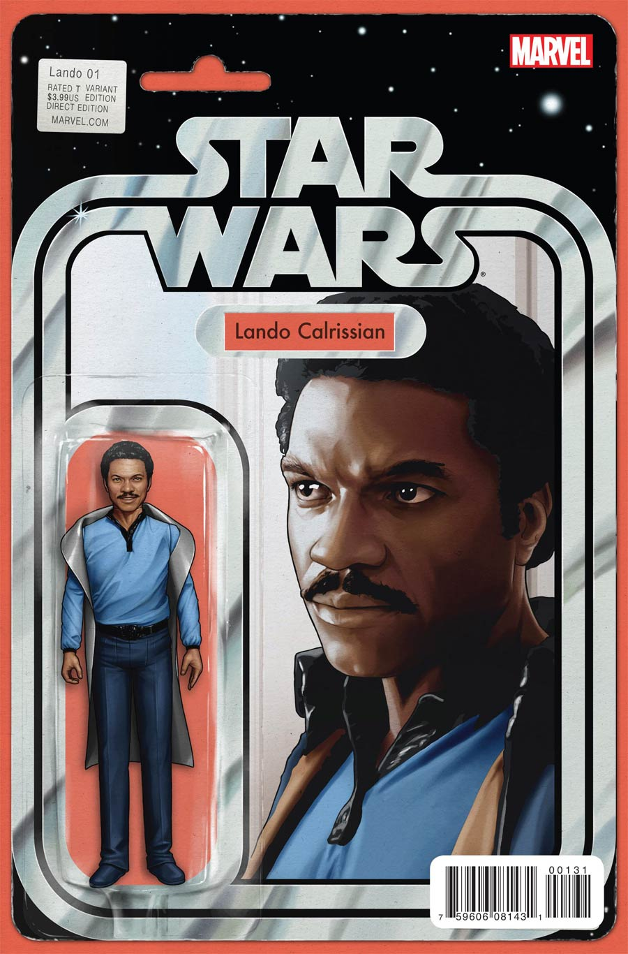 Star Wars Lando #1 Cover C Variant John Tyler Christopher Action Figure Cover