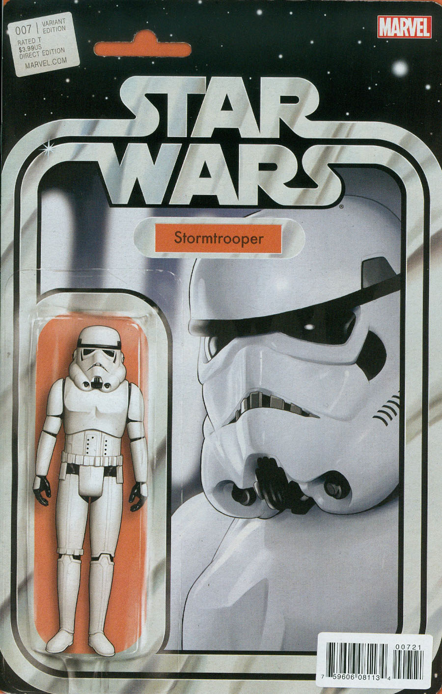 Star Wars Vol 4 #7 Cover B Variant John Tyler Chistopher Action Figure Cover