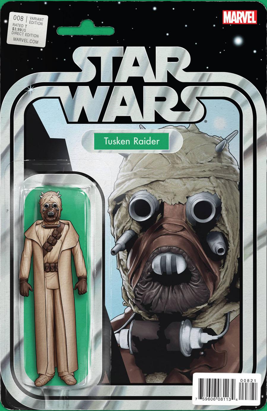 Star Wars Vol 4 #8 Cover B Variant John Tyler Christopher Action Figure Cover